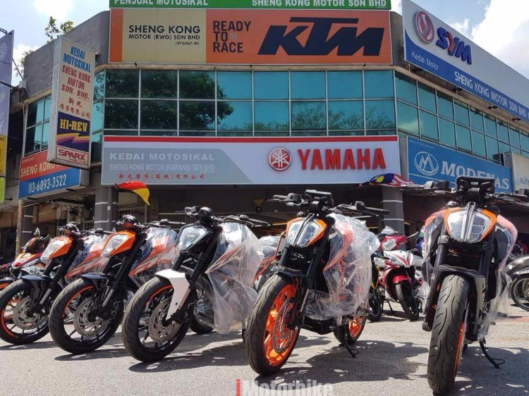 PROMOSI KTM DUKE 250/390 LATEST MODEL