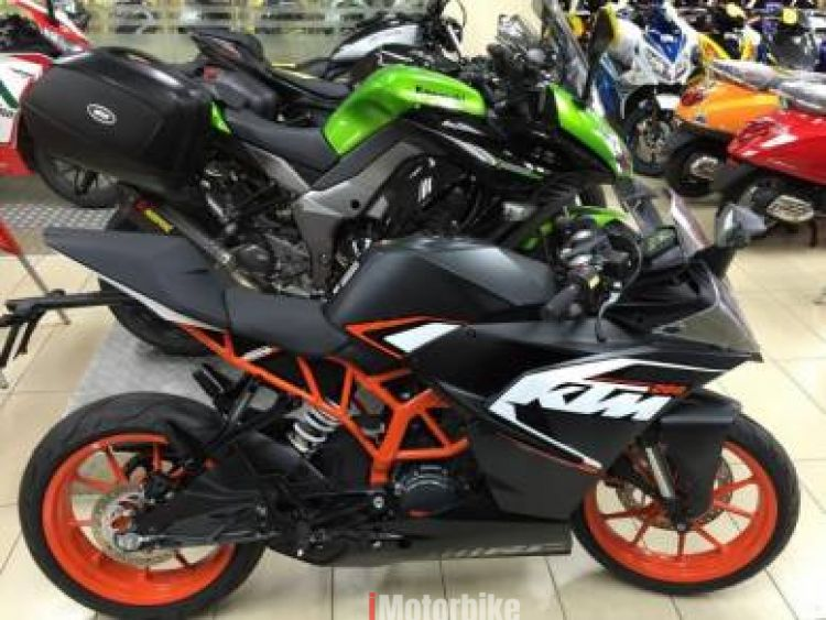 2018 KTM RC200 - 90% Credit- Special now