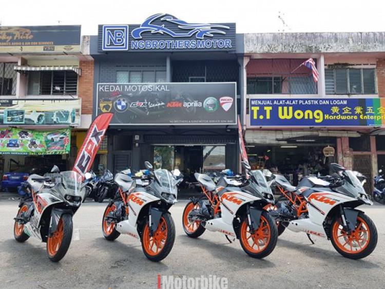 KTM RC200 RC 200 250 NINJA250 R25