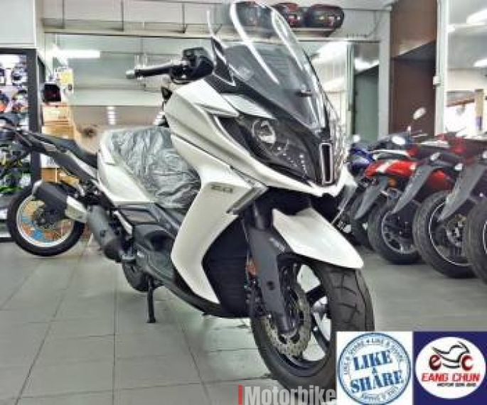 2017 Kymco Downtown 250i Year End Sales