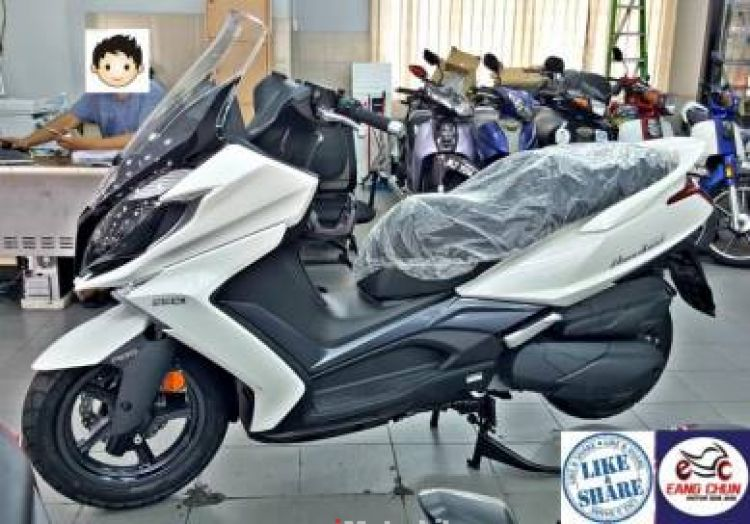 2018 Kymco Downtown 250i Gong Xi Fa Cai Sales