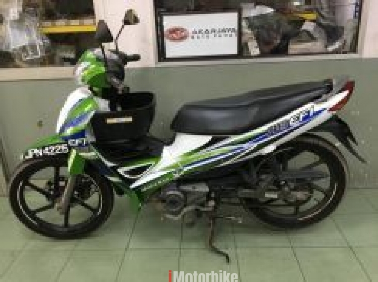 2013 Modenas kriss 118 efi 2nd hand