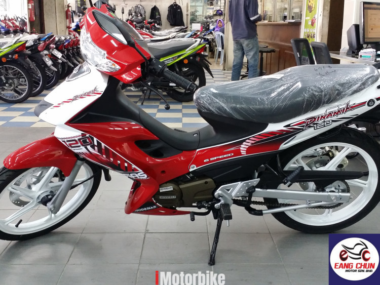 2018 Modenas Dinamik 120 Pre Register Bike