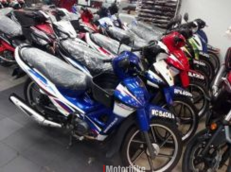 2014 Modenas kriss second hand clear stokk mr1 kriss120