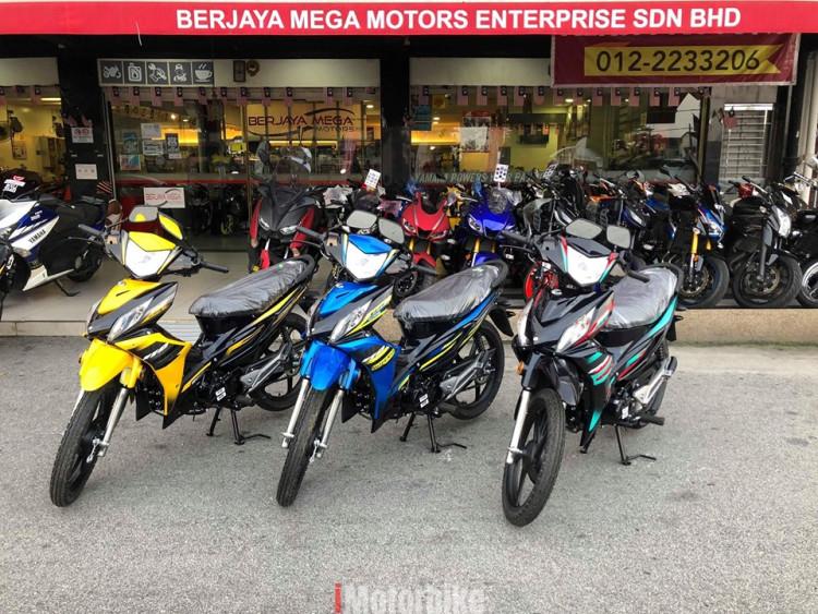 New MODENAS KRISS MR3 YearEnd Sales BMM
