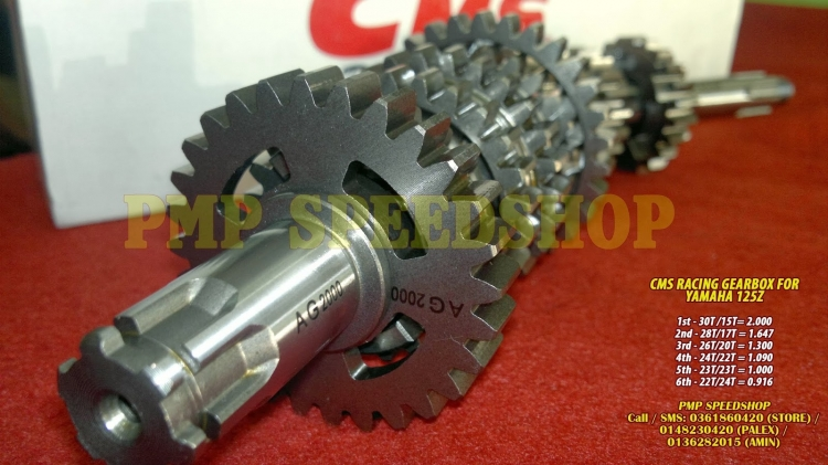 NEW CMS GEARBOX RACING FOR YAMAHA 125Z, RM330, Gearboxes & Gearbox Parts  Motorcycles, Kuala Lumpur | imotorbike my