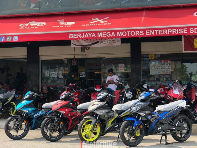 New Yamaha Y15ZR YearEnd Sales BMM