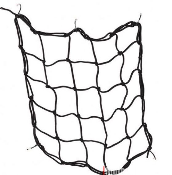 40cm40cm Motorcycle Bicycle Cargo Net Elastic Luggage Rope Fixed