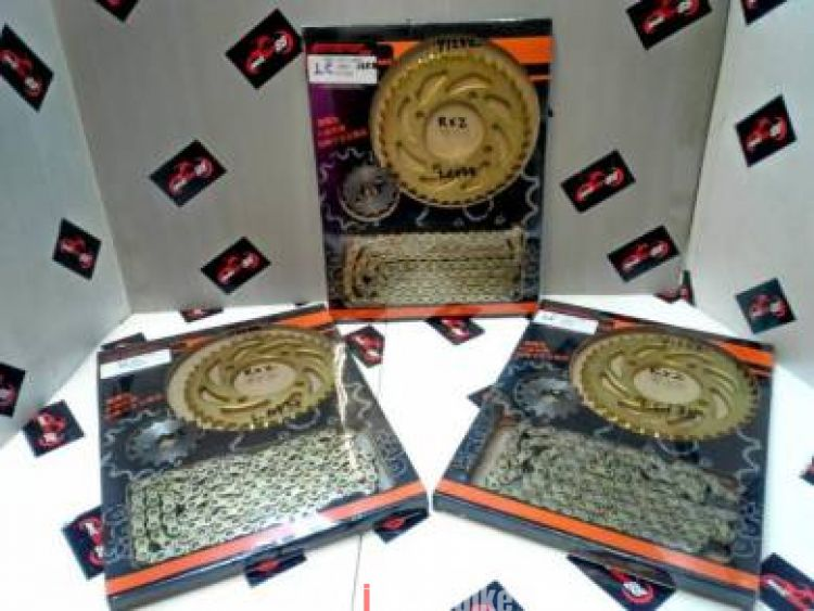 Bikers Sprocket & Chain set LC135/ Y125Z/ RXZ, RM80, Chains, Sprockets &  Parts Motorcycles, Johor | imotorbike my