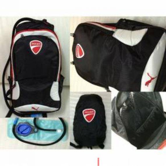 939533e7db24 Ducati Puma Back Pack Rain cover   Nett Helmet Size xl