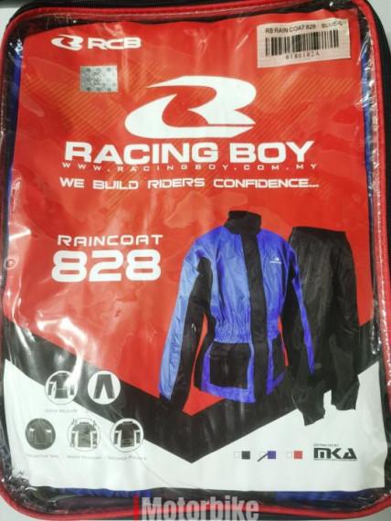 RACING BOY RAIN COAT 828 (BLUE)