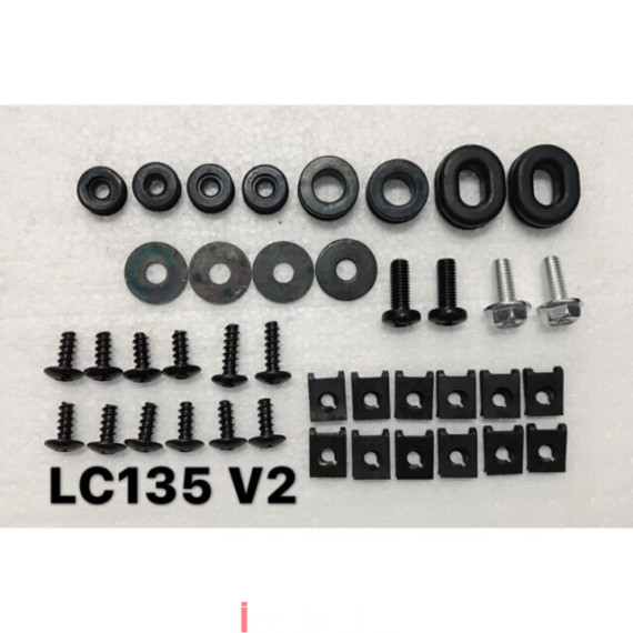 Screw Coverset LC135 V2V3   Other Motorcycle Parts Motorcycles iMotorbike  Malaysia