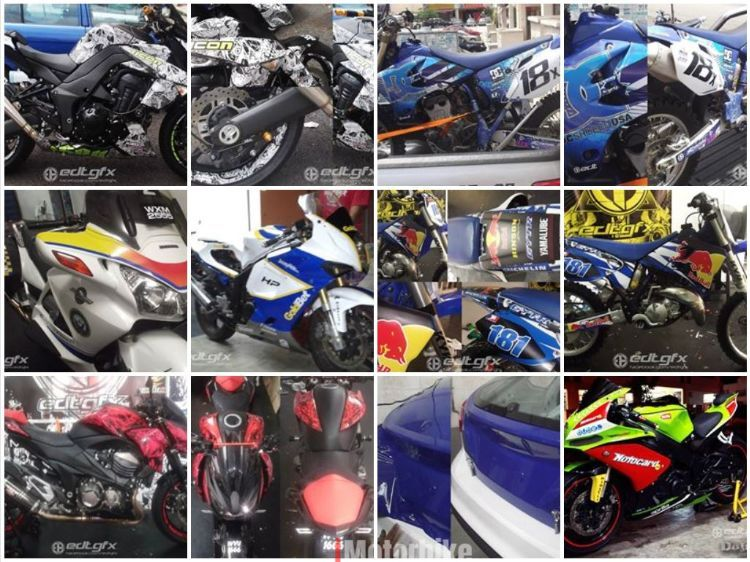 Pre made and custom design graphic kits, stickers and wrap, RM200,  Stickers, Decals & Emblems Motorcycles, Selangor | imotorbike my