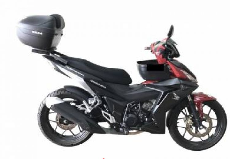 Shad sh34 top case for honda rs150 / RS150R 16-17, RM376, Luggage & Luggage  Parts Motorcycles, Ampang | imotorbike my