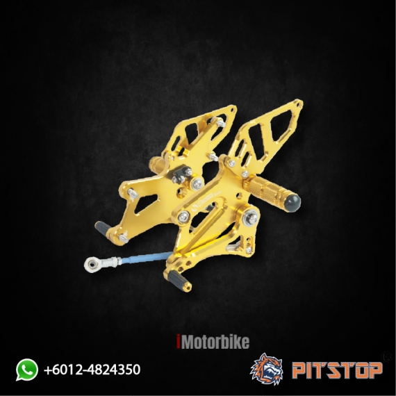 R25 FOOT REST RACING BOUSHI (GOLD)