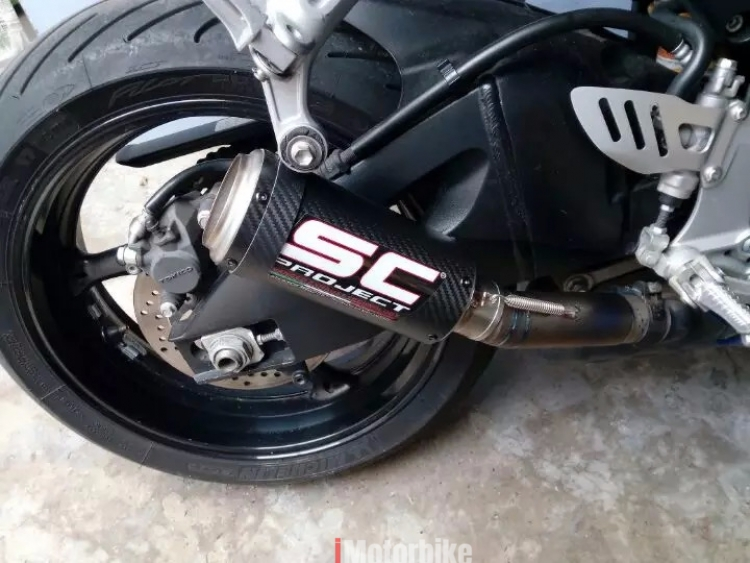 For Laser Marking Sc Project Motorcycle Exhaust Pipe Scooter
