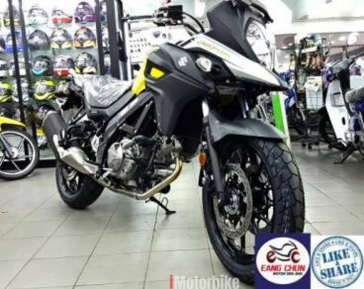 2017 V strom 650 SideBOX V-Strom 650 Vstrom Apply On9