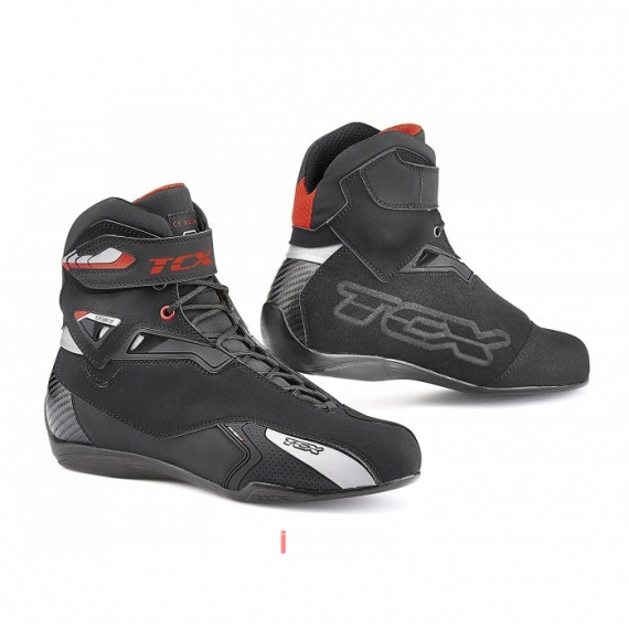 TCX 9505W Rush Waterproof Boots (Black/Red) Size 43