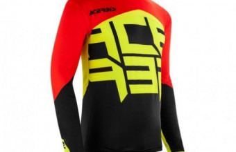 ACERBIS - CARBON FLEX JERSEY - BLACK YELLOW Size XL, RM225