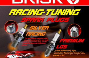 Brisk Racing Spark Plugs Motorcycles in Malaysia | iMotorbike