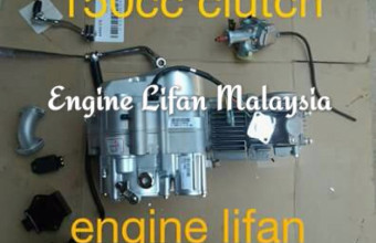 Engine lifan 125cc stater,hand clutch, RM1,450, Complete