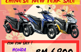 HONDA CNY SALE VARIO 150 (NORMAL) PROMO !