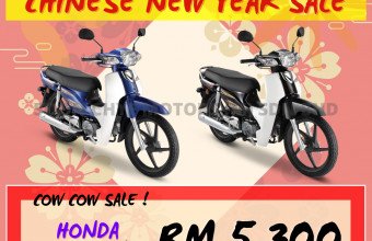 HONDA CNY SALE EX5 (NORMAL RIM) PROMO !