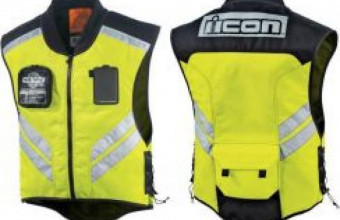 7a5842cb5 Icon Mesh Safety Reflective Vest Size M, RM90, Jackets Motorcycles ...