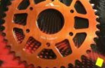 HONDA RS150 Rear Sprocket ALLOY BOSHI PRO (RS 150), RM180, Chains