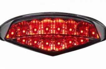 MOTODYNAMIC Yamaha MT-09 Sequential LED Tail Light, RM520, Rear