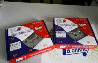 Honda RS 150 Front Sprocket cover V 1 1/pc ( fsc012 ) wk a, RM65