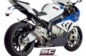 BMW S1000RR Sc project S1 exhaust