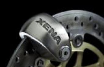 OXFORD MOTORCYCLE REVOLVER 1.4MTR CABLE LOCK SILVER