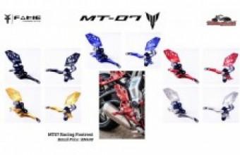 Yamaha Mt07 FAKIE racing footrest