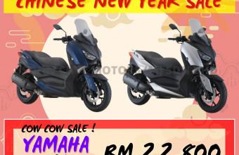 YAMAHA CNY SALE XMAX 250 PROMO !