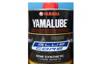 YAMALUBE AT 10W-40 BLUECORE SEMI SYNTHETIC MOTORCYCLE OIL (1.0L)(4T ONLY)