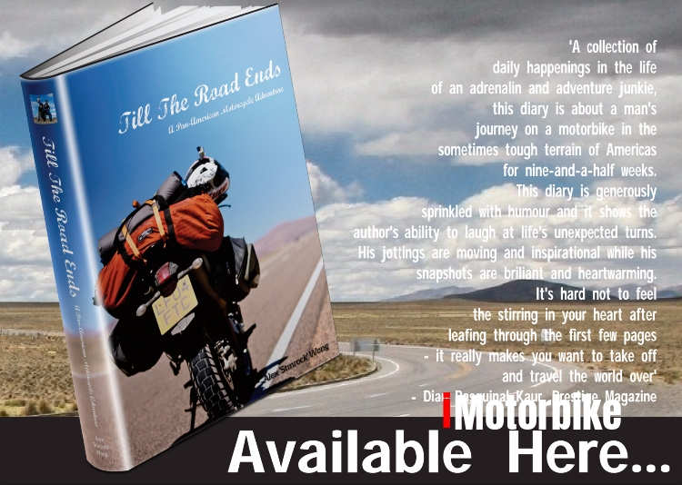 Till The Road Ends - A Pan-American Motorcycle Adventure
