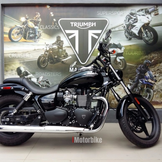 2015 Triumph Speed Master - Direct Owner