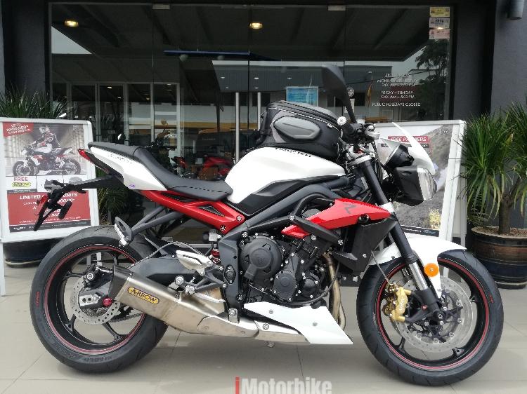 2016 Triumph Street Triple 675 R Rm46900 New Triumph Motorcycles
