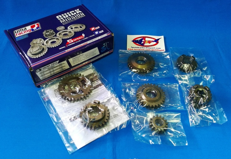 UMA RACING GEARBOX YAMAHA LC135 5 SPEED / Y15ZR / FZ150 NEW, RM500,  Gearboxes & Gearbox Parts Motorcycles, Kuala Lumpur | imotorbike my