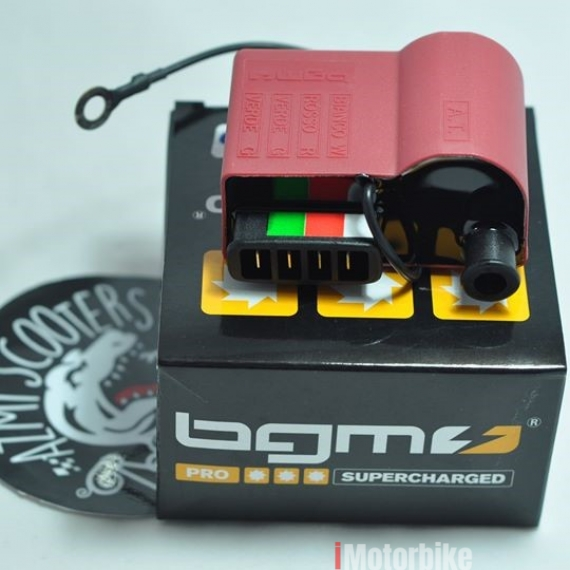 Vespa&Lambretta CDI IGNITION COIL RED - BGM PRO, RM180, Other Engines &  Engine Parts Vespa Motorcycles, Vespa Selangor | imotorbike my