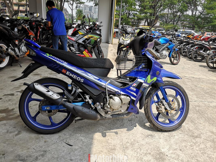 2016 yamaha 125zr in good condition
