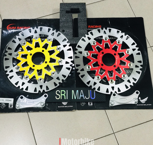 Sum racing Alloy brake disc CNC 300mm