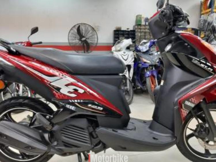 2014 Yamaha Ego LC Kuasa Prestasi Tiada Tandingan