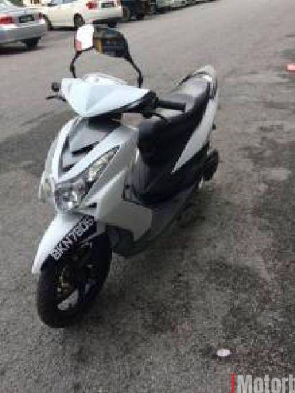 2009 Yamaha ego S 115