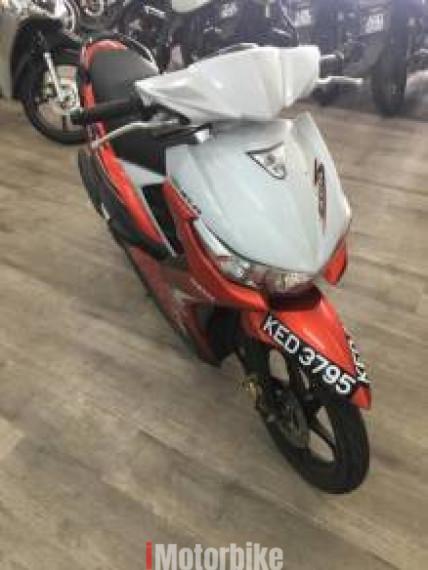 2016 Yamaha ego s fi 115
