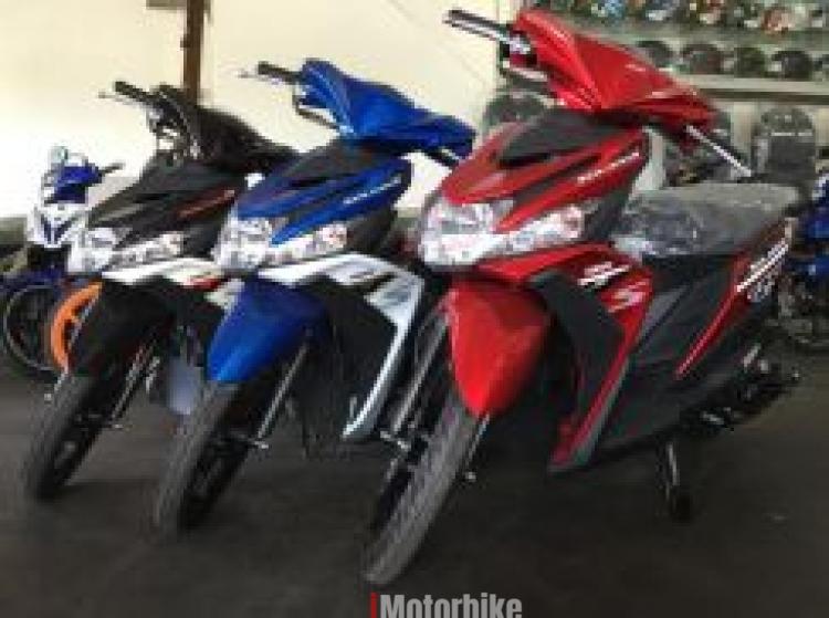 2017 YAMAHA EGO SOLARIZ 125cc Fi BLUE CODE (Red)