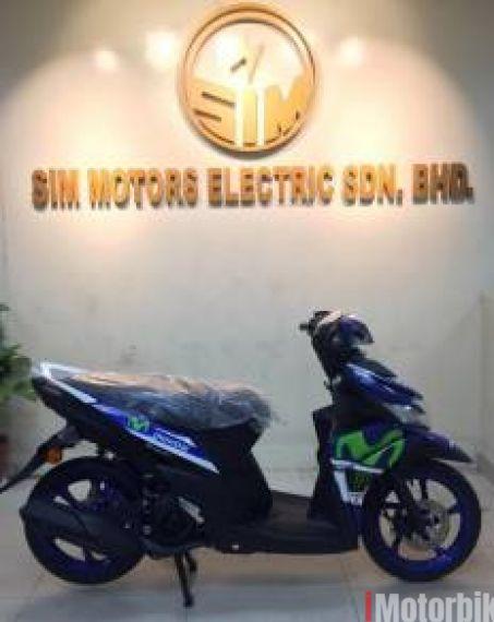 2017 Yamaha Ego Sorlariz 125 -Movistar- CNY Deal