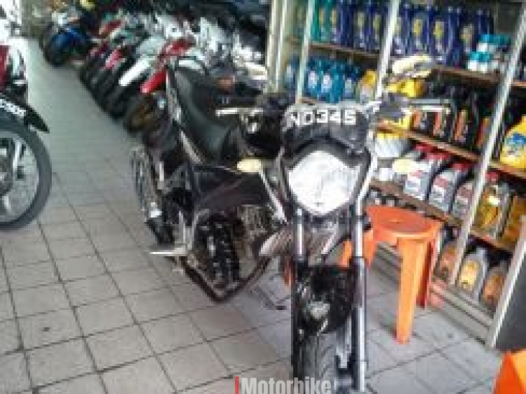 2011 YAMAHA FZ150 i SECOND HAND (Black)
