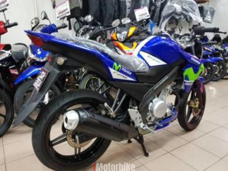 2015 Yamaha Fz150 fz 150 MOVISTAR Lima Ratus Muka